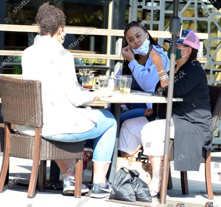 Editorial picture of Exclusive - Nia Sioux out and about, Los Angeles, California, USA - 26 Oct 2020