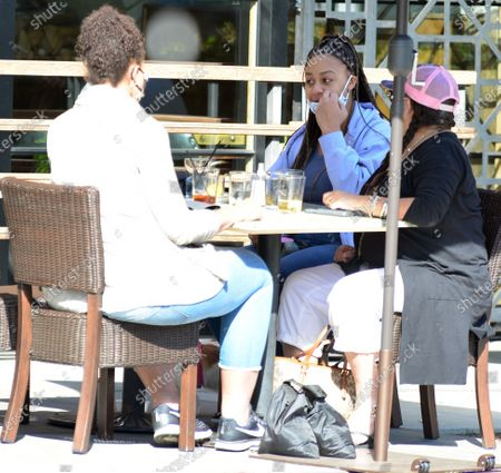 Stock Image of Exclusive - Nia Sioux of the show 'Dance Moms' dines out in Studio City