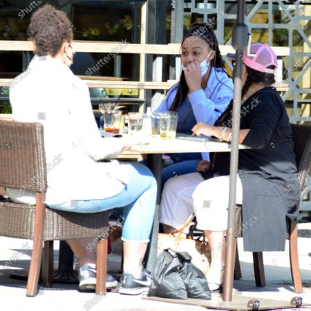Stock Photo of Exclusive - Nia Sioux of the show 'Dance Moms' dines out in Studio City