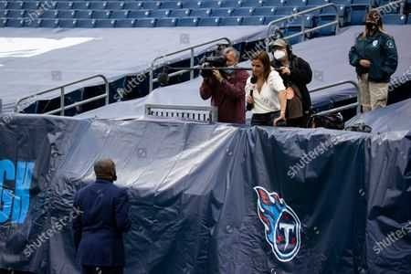 Editorial photo of Steelers Titans Football, Nashville, United States - 25 Oct 2020