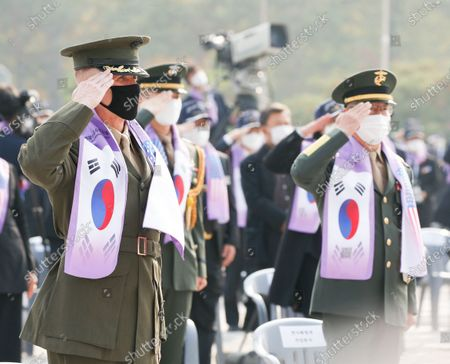 Editorial picture of 70th anniversary of Korean War, in Seoul, Korea - 27 Oct 2020