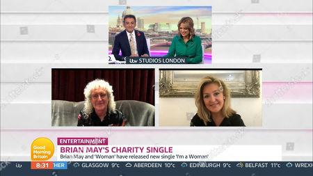 Editorial photo of 'Good Morning Britain' TV Show, London, UK - 27 Oct 2020