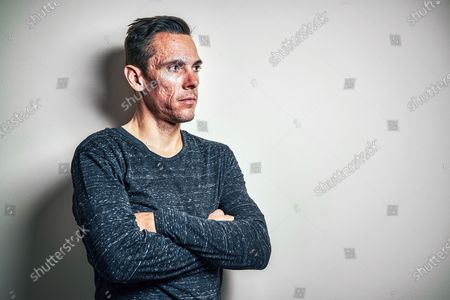 Stock Image of Portrait of Belgian professional cyclist Philippe Gilbert, taken on December 19, 2019. (Photo by Jesse Wild/Procycling Magazine)
