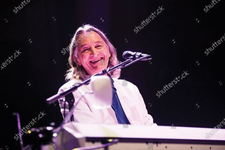 English rock musician Roger Hodgson performing live on stage at the Royal Albert Hall in London, on May 23, 2019. (Photo by Will Ireland/Prog Magazine)