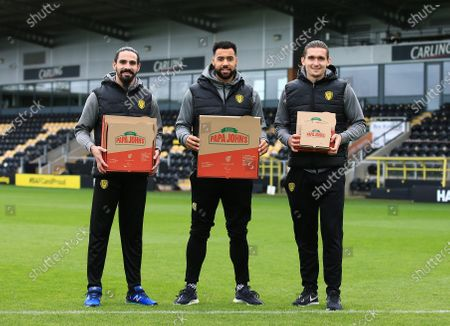 Editorial picture of Burton Albion Football Club Provide 100 Free Lunches to families in need, Pirelli Stadium, Burton upon Trent, UK - 28 Oct 2020