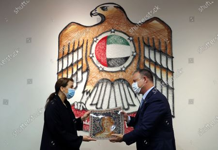 Editorial photo of Emirates Israel, Dubai, United Arab Emirates - 27 Oct 2020