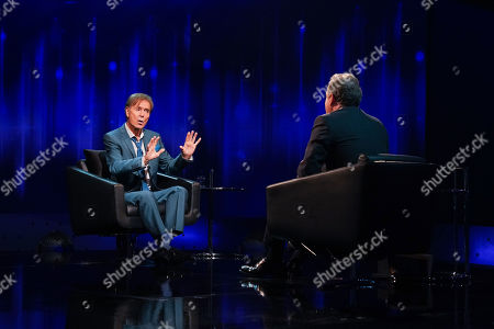 Piers Morgan and Sir Cliff Richard.
