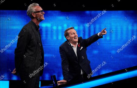 Mark Foster and Bradley Walsh