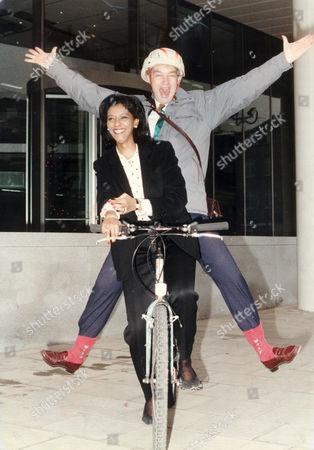 Jon Snow and Zeinab Badawi