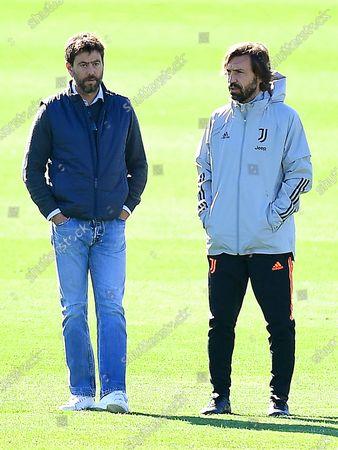 Editorial photo of Juventus FC training, Turin, Italy - 27 Oct 2020