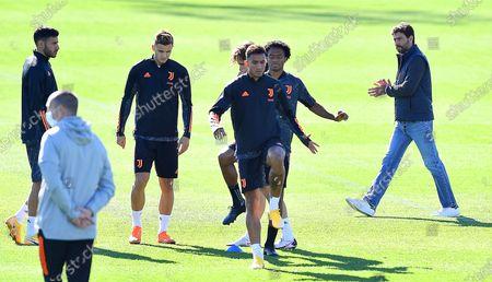 Editorial image of Juventus FC training, Turin, Italy - 27 Oct 2020