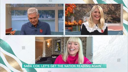 Phillip Schofield, Holly Willoughby, Sara Cox