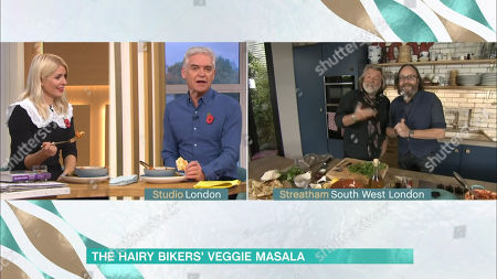 Holly Willoughby, Phillip Schofield, Dave Myers and Si King