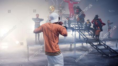 Stock Photo of Lil Wayne and 2 Chainz