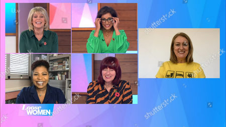 Ruth Langsford, Saira Khan, Brenda Edwards, Janet Street-Porter, Jacqui Smith