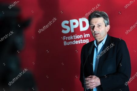 Editorial picture of SPD faction meeting, Berlin, Germany - 27 Oct 2020