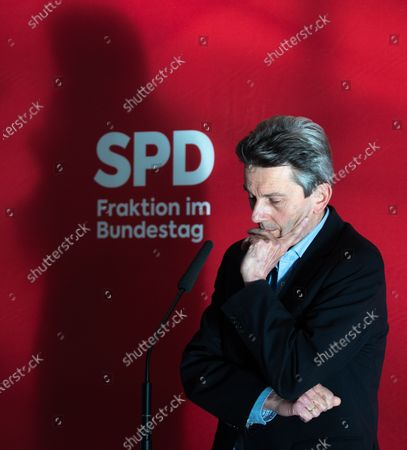 Editorial image of SPD faction meeting, Berlin, Germany - 27 Oct 2020
