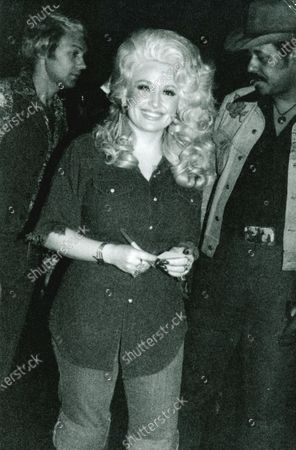 Dolly Parton pictured here in the late 1970's.
