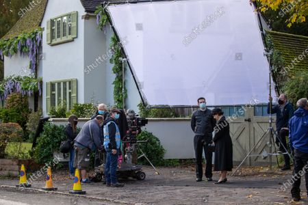 Editorial photo of 'Grantchester' TV show filming, Cambridge, UK - 22 Oct 2020