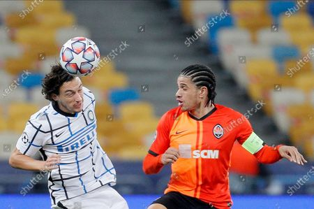 Editorial image of Shakhtar Donetsk vs Inter Milan, Kiev, Ukraine - 27 Oct 2020