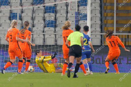 Editorial image of Kosovo vs Netherlands, Pristina, Serbia - 27 Oct 2020