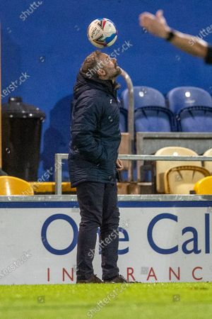 Editorial picture of Mansfield Town v Barrow, EFL Sky Bet League 2 - 27 Oct 2020