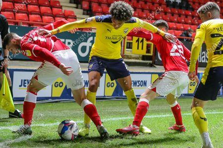 Editorial photo of Charlton Athletic v Oxford United, EFL Sky Bet League 1 - 27 Oct 2020