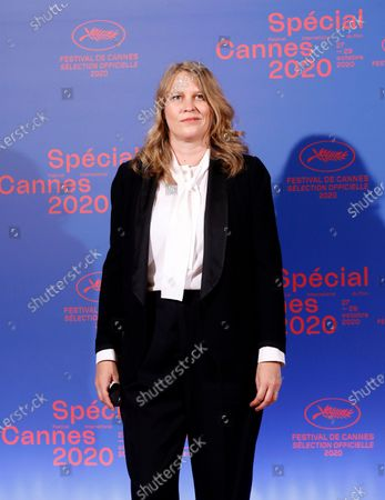 Jury member French film director Claire Burger poses before the opening ceremony of the Cannes 2020 Special, in Cannes, France, 27 October 2020. The 73rd edition of the Cannes Film Festival which was to be held in May 2020 was canceled due to the Covid-19 pandemic. The Cannes 2020 Special runs from 27 to 29 October.