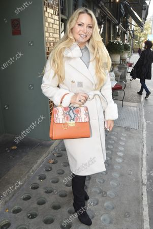 Stock Picture of Victoria Featherstone Pearce at The Ivy in Chelsea