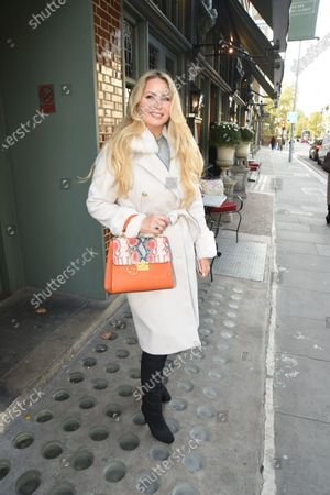Victoria Featherstone Pearce at The Ivy in Chelsea