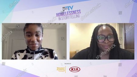 """Stock Photo of This is Us"""" Actress, Lyric Ross and Writer Kay Oyegun, talk about portraying a foster and homeless youth at the Television Academy Foundation's """"The Power of TV: Homelessness in Storytelling"""" panel discussion streaming live, and available to watch on TelevisionAcademy.com"""