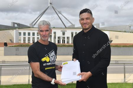 Editorial image of Sports stars call for Australia to accept New Zealand refugee resettlement offer, Canberra - 28 Oct 2020