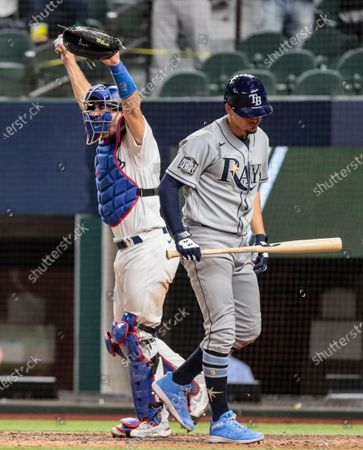 Editorial image of Dodgers and Braves in game six of the World Series at Globe Life Field, Globe Life Field, Arlington, California, United States - 27 Oct 2020