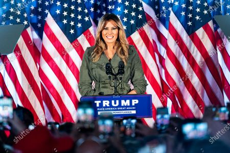 Editorial image of Melania Trump & Kellyanne Conway Campaigning for Donald Trump in Atglen, US - 27 Oct 2020