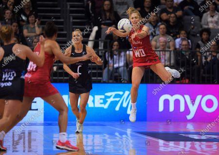 Editorial image of Taini Jamison Netball Series - Silver Ferns v England Roses, Hamilton, New Zealand - 28 Oct 2020