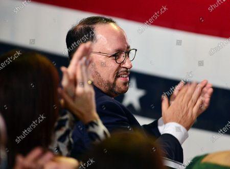 Donald Trump campaign event, Miami, FL, USA - 27 Oct 2020 témájú szerkesztői kép