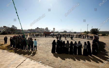 Aftermath of killing of a senior Houthi official, Sanaa, Yemen - 28 Oct 2020 témájú szerkesztői kép