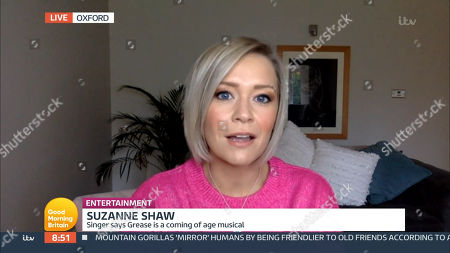 Stock Picture of Suzanne Shaw