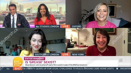 Editorial image of 'Good Morning Britain' TV Show, London, UK - 28 Oct 2020