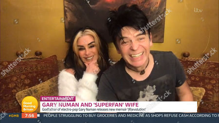 Gary Numan and Gemma Numan