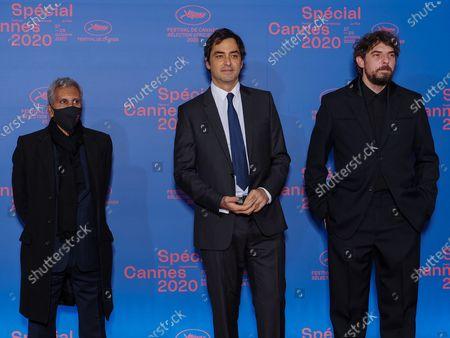 Rachid Bouchareb, Charles Gillibert and Damien Bonnard