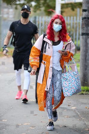 Stock Picture of Max George and Dianne Buswell