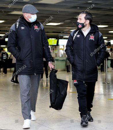 Head coach Filippo Giovagnoli and assistant coach Giuseppe Rossi