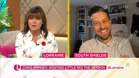 Lorraine Kelly and Chris Ramsey