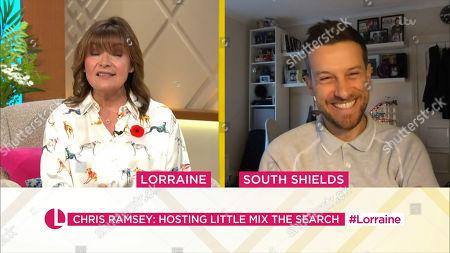 Editorial image of 'Lorraine' TV Show, London, UK - 28 Oct 2020
