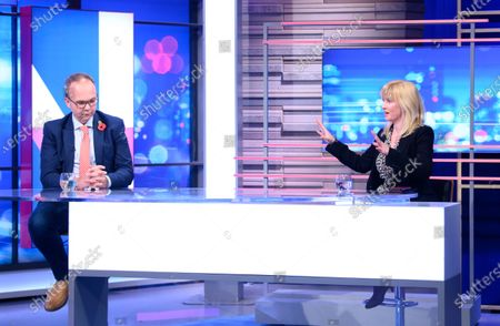 Editorial picture of 'Peston' TV show, Series 6, Episode 34, London, UK - 28 Oct 2020