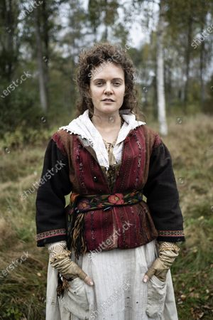 Singer Tove Lo during the filming of the movie, based on Swedish author Vilhelm Moberg's book