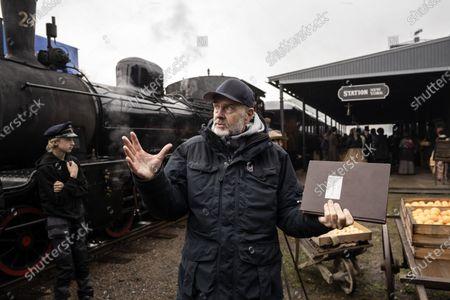 Editorial image of 'The Emigrants' filming, Alingsas, Sweden - 20 Oct 2020
