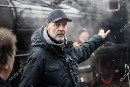 Stock Picture of Director Erik Poppe during the filming of the movie, based on Swedish author Vilhelm Moberg's book