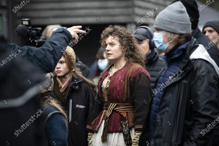 Editorial picture of 'The Emigrants' filming, Alingsas, Sweden - 20 Oct 2020